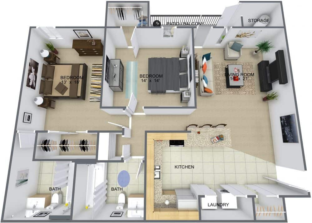 Floor Plans Forrest Pines Apartments And Townhomes